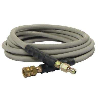 50 ft. Wrapped Hose with Quick-Connect Couplers