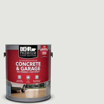 1 gal. #PFC-66 Ice White Self-Priming 1-Part Epoxy Satin Interior/Exterior Concrete and Garage Floor Paint