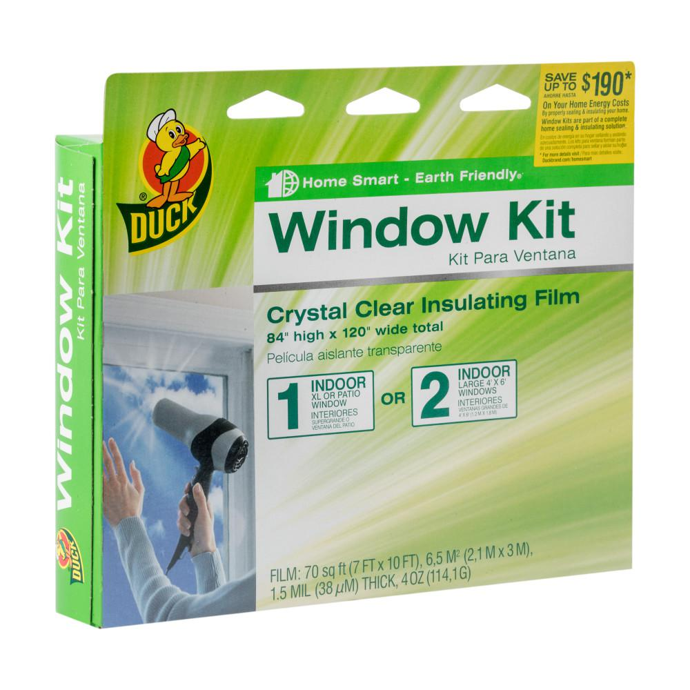 84 in. x 120 in. Crystal Clear XL Patio Window Kit