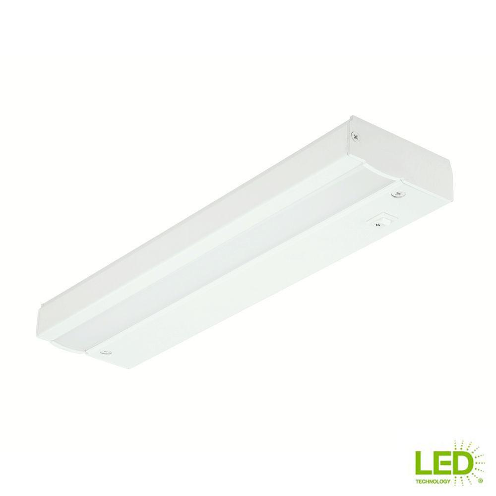 12 Quot White Led Direct Wire Under Cabinet Light Bar Lighting