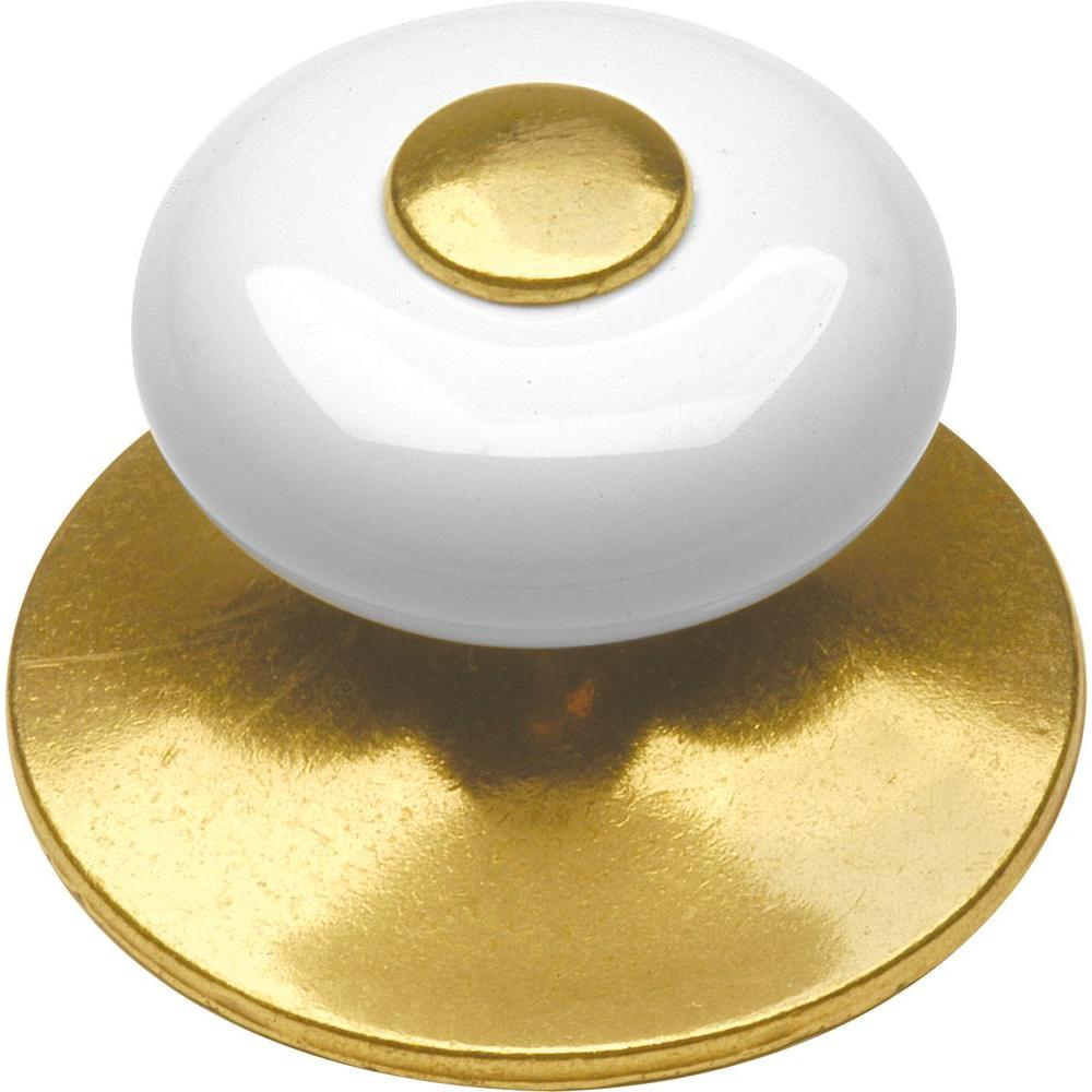Hickory Hardware English Cozy 1-1/4 in. Lancaster Cabinet Knob