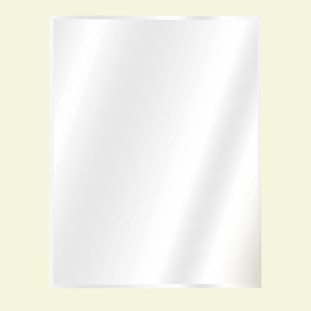 16 in. W x 20 in. H X 4 in. D Recessed or Surface Mount Frameless ...