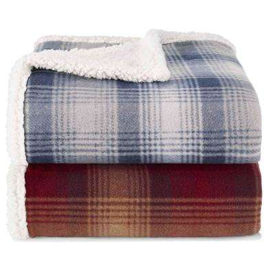 Nordic Raisin 50 in. x 70 in. Throw