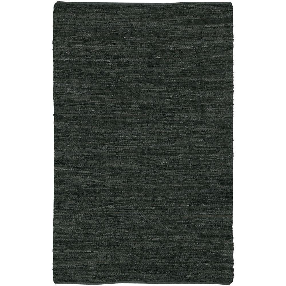 Saket Black 7 ft. 9 in. x 10 ft. 6 in. Indoor Area Rug