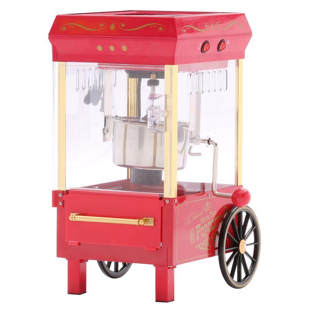Nostalgia Old-Fashioned Kettle Popcorn Maker