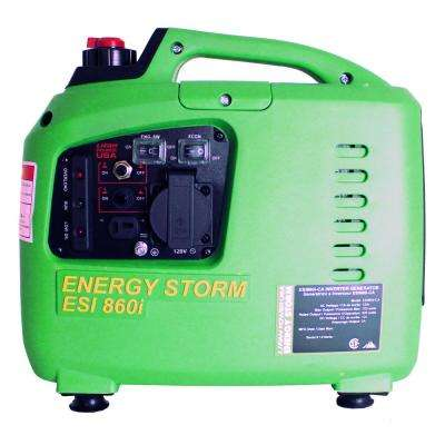 Energy Storm 700/600-Watt 40cc Gasoline Powered Inverter Generator with CARB
