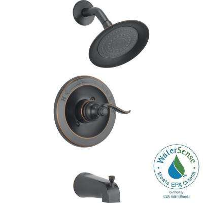 Windemere 1-Handle Tub and Shower Faucet Trim Kit in Oil Rubbed Bronze (Valve Not Included)