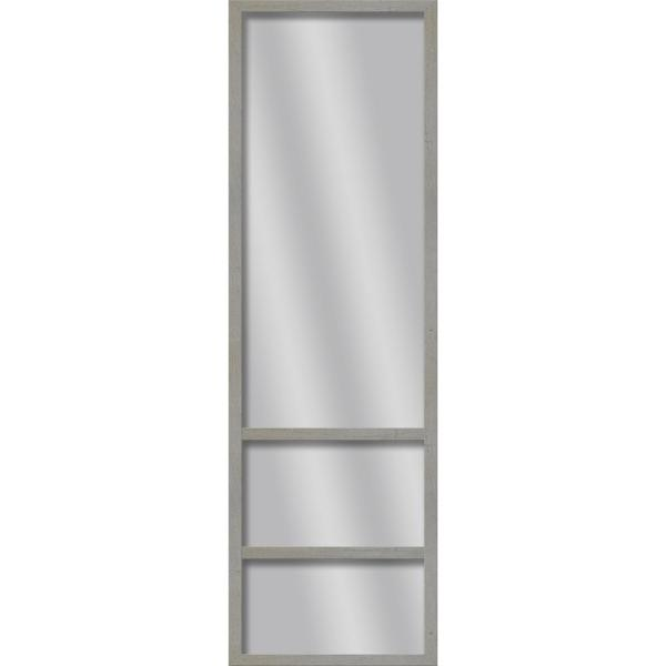 Large Rectangle Curde Art Deco Mirror (49.75 in. H x 13.73 in. W)