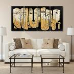 """""""Totem poles"""" Mixed Media Iron Hand Painted Dimensional Wall Decor"""