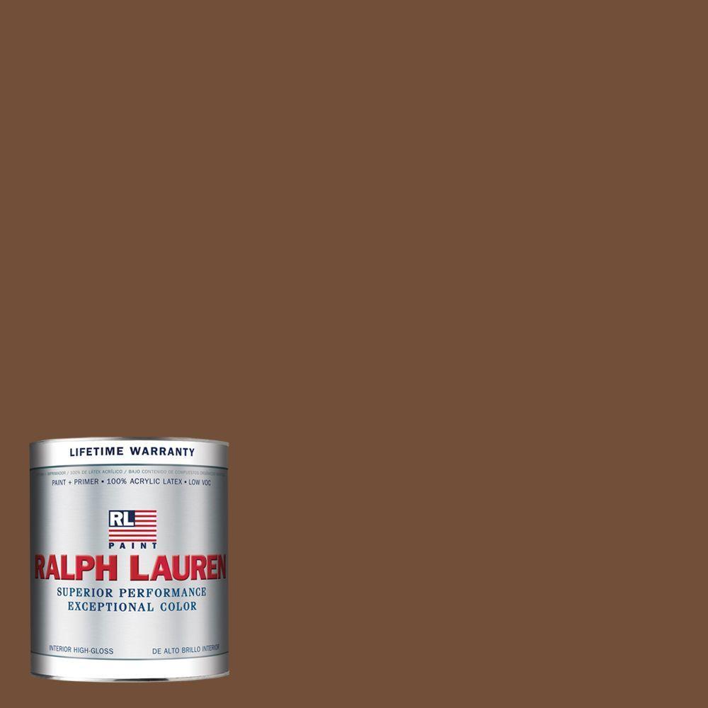 Ralph Lauren 1-qt. Brushed Sable Hi-Gloss Interior Paint