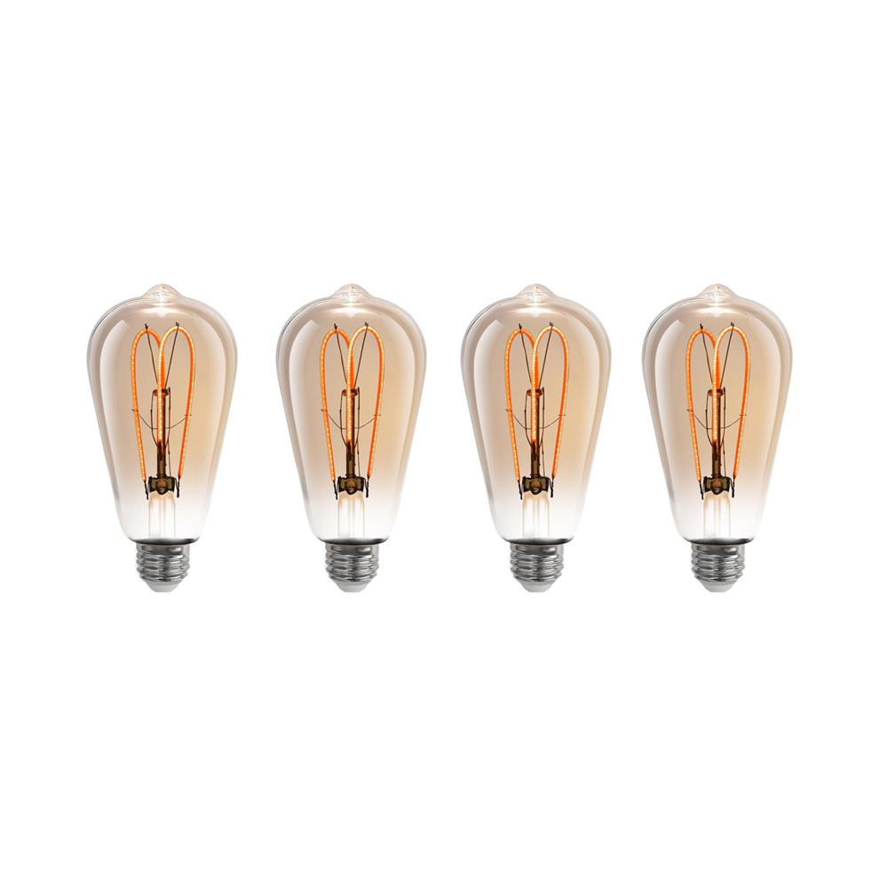 Feit Electric 40w Equivalent Soft White 2150k St19: Philips 120-Watt Equivalent PAR38 Dimmable LED Energy Star