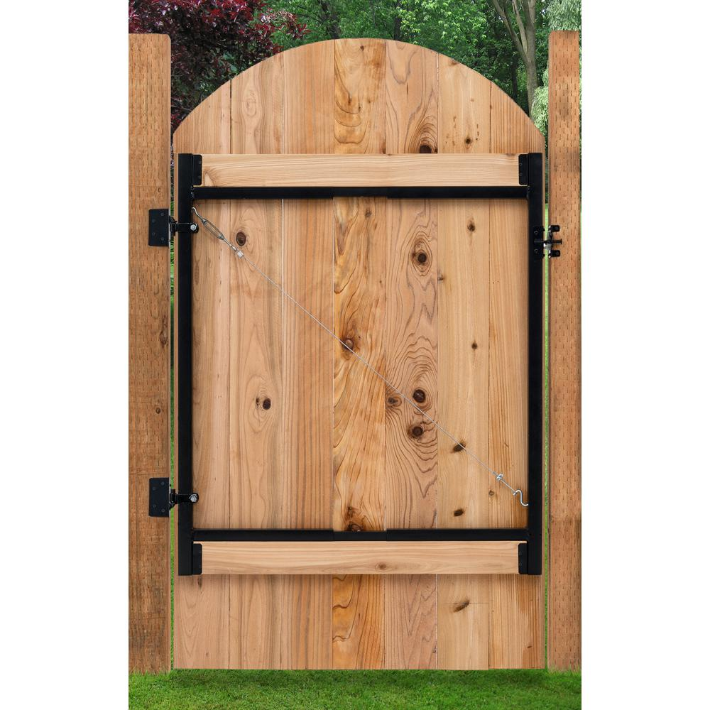 Adjust-A-Gate Original Series 36 in. - 60 in. Wide Gate Opening ...