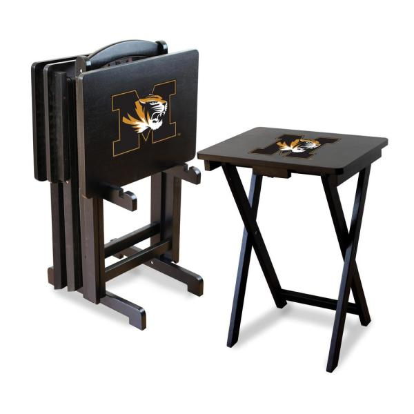Imperial University of Missouri TV Trays with Stand IMP 86-3019