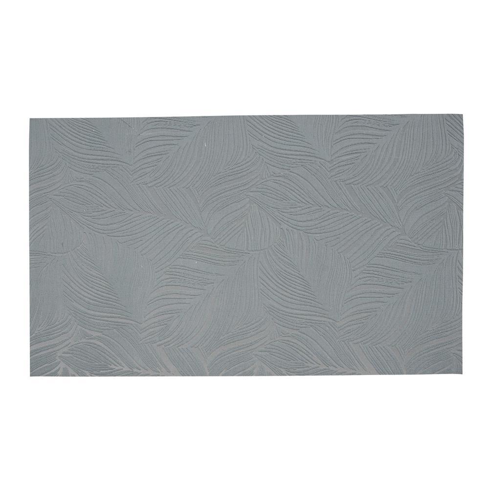 Goya Gray 2 ft. x 7 ft. Indoor/Outdoor Runner Rug