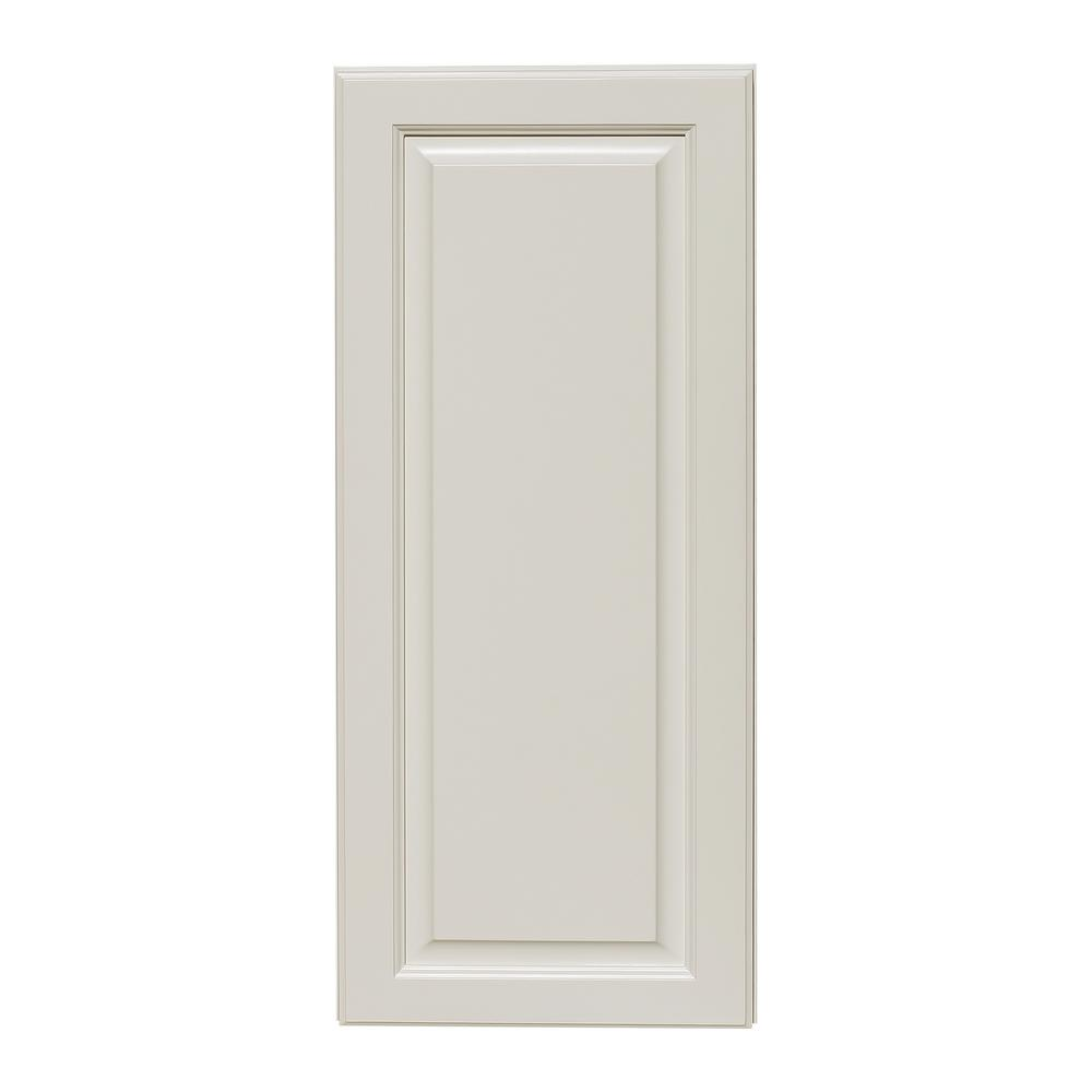 Newport Assembled 21x36x12 In. 1 Door Wall Cabinet With 2