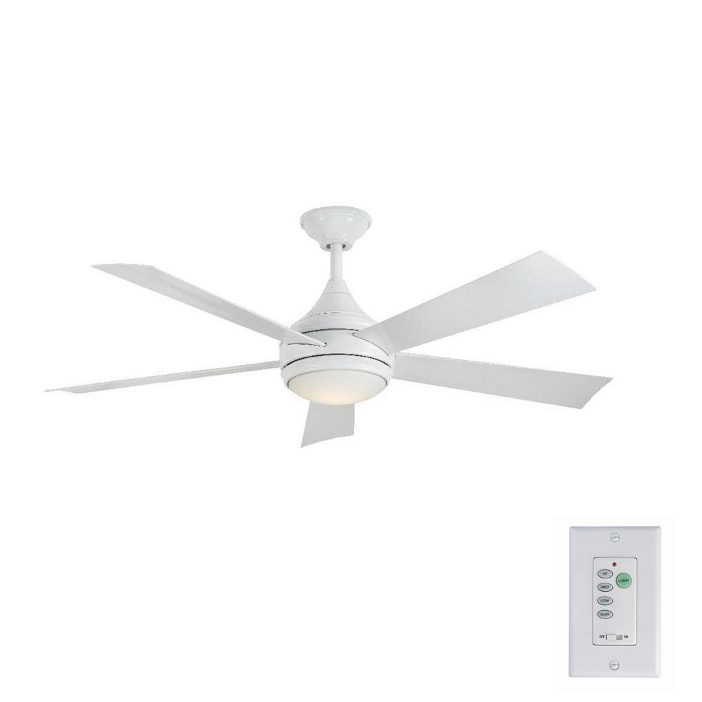 Home Decorators Collection Hanlon 52 in. LED Indoor/Outdo...