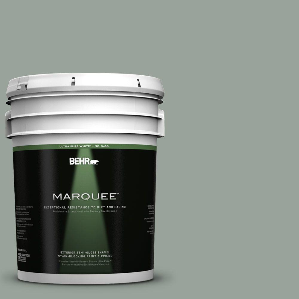 BEHR MARQUEE 5-gal. #700F-4 Pinedale Shores Semi-Gloss Enamel Exterior Paint