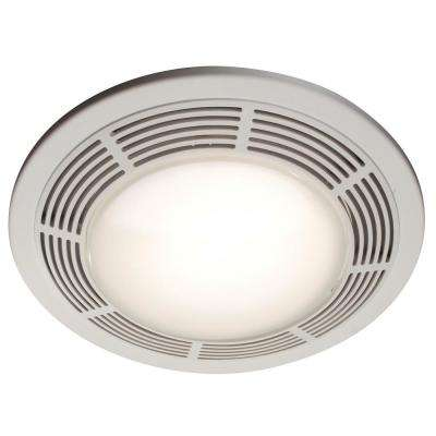100 Cfm Ceiling Bathroom Exhaust Fan With Light And Night
