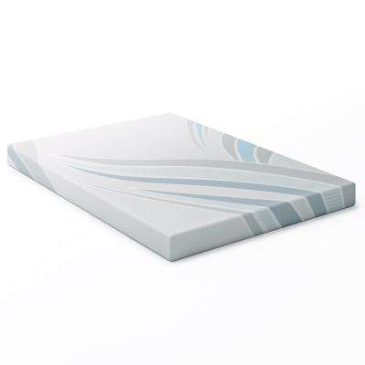 Sleep Collection 5 in. Double/Full Memory Foam Mattress