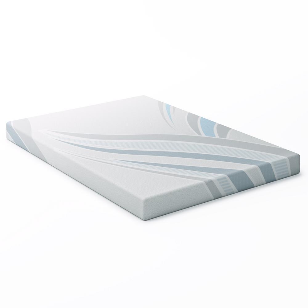 Sleep Collection 5 in. Double/Full Memory Foam Mattress
