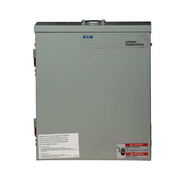 150 Amp Green Automatic Transfer Switch with Surge Protection