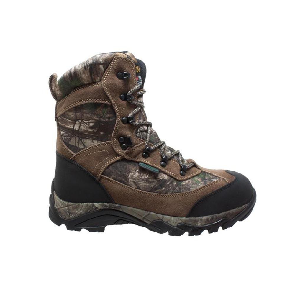 sale new lower prices many fashionable Tecs Men's Size 13 Camo Brown Suede/Leather 9 in. Waterproof Hunting Boots