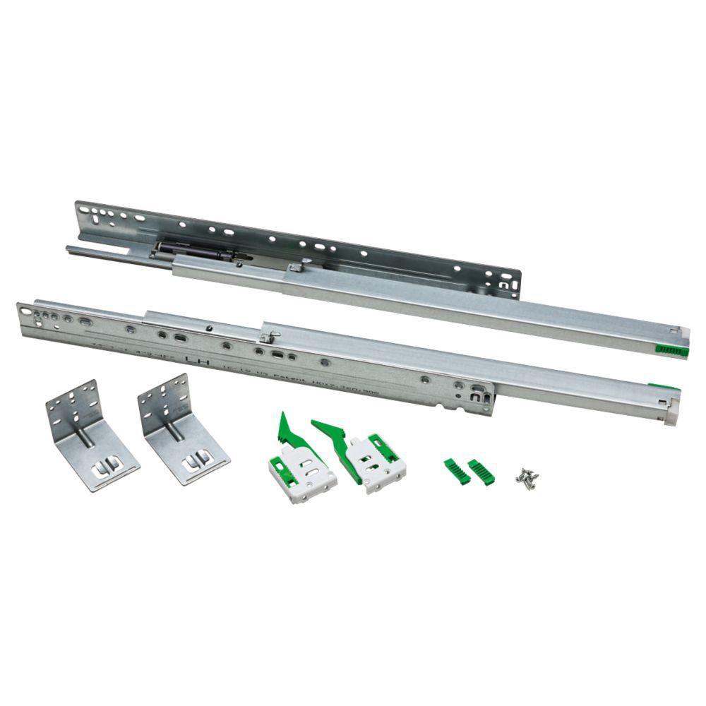Liberty 18 In Full Extension Ball Bearing Under Mount Drawer Slide 1 Pair D37830 Zp R The