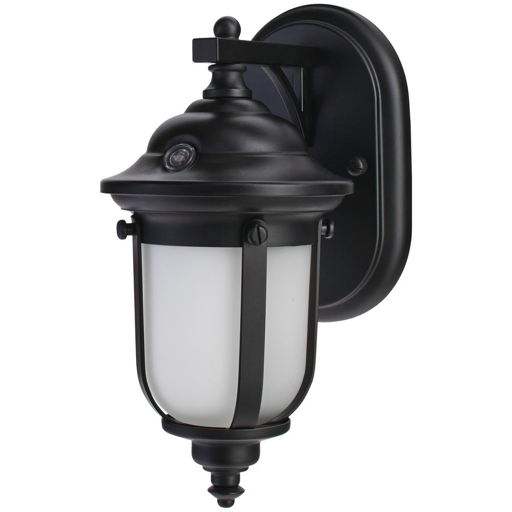Home Exterior Lights: Home Decorators Collection LED Small Exterior Wall Light