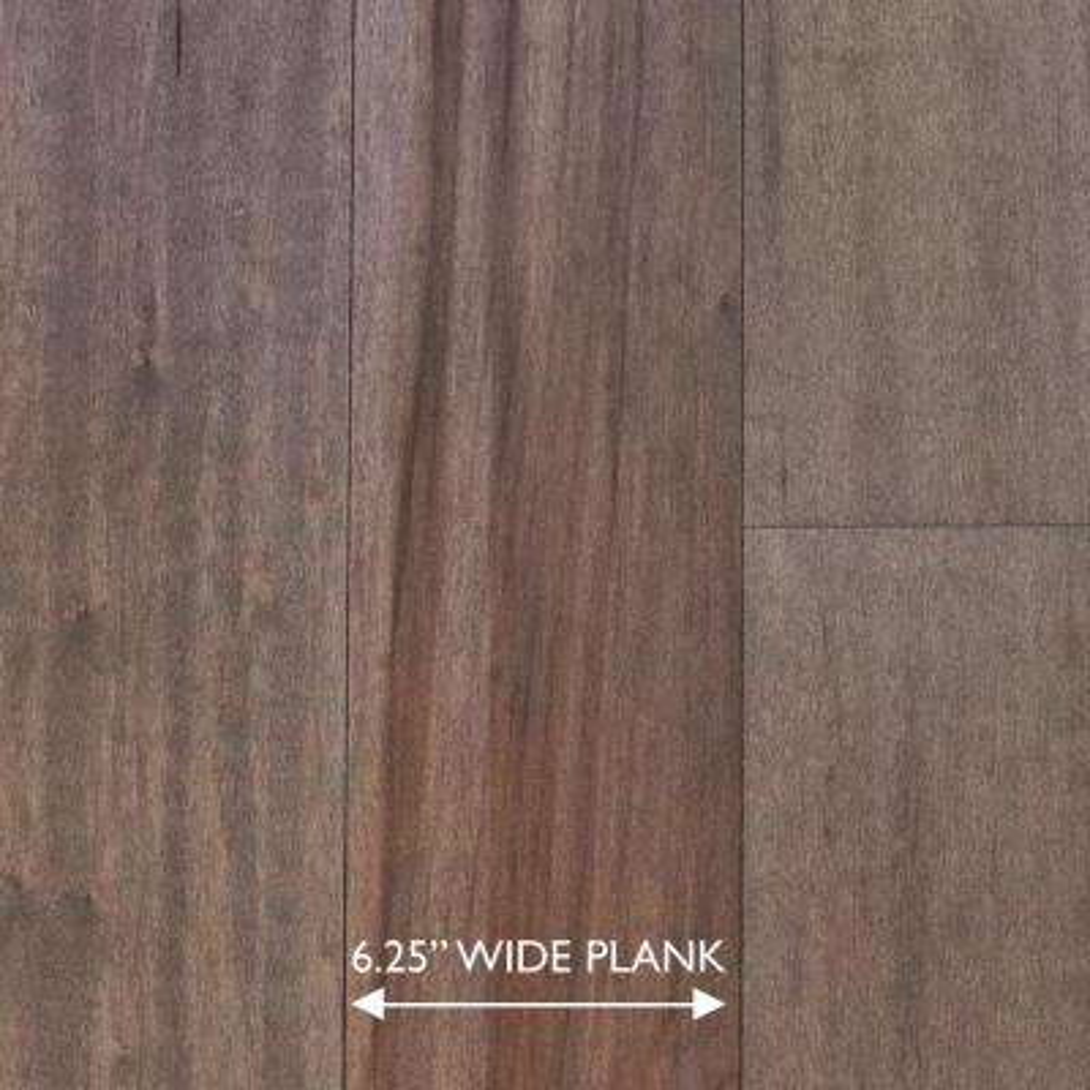 Scraped Maple Tranquil Fog 3/8 in. x 6-1/4 in. x Random Length Engineered Click Hardwood Flooring (32.2 sq. ft. / case)
