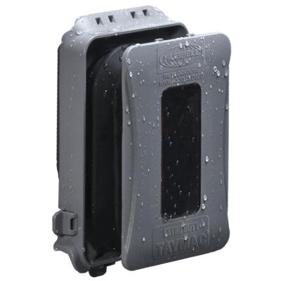 1-Gang Horizontal/Vertical Mount Weatherproof Expandable Low Profile Extra Duty In-Use Cover