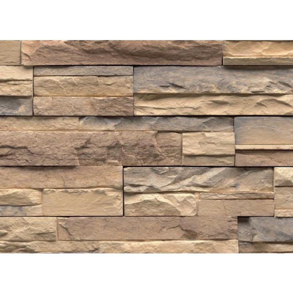 Veneerstone Imperial Stack Stone Bristol Flats 150 sq. ft. Bulk Pallet Manufactured Stone