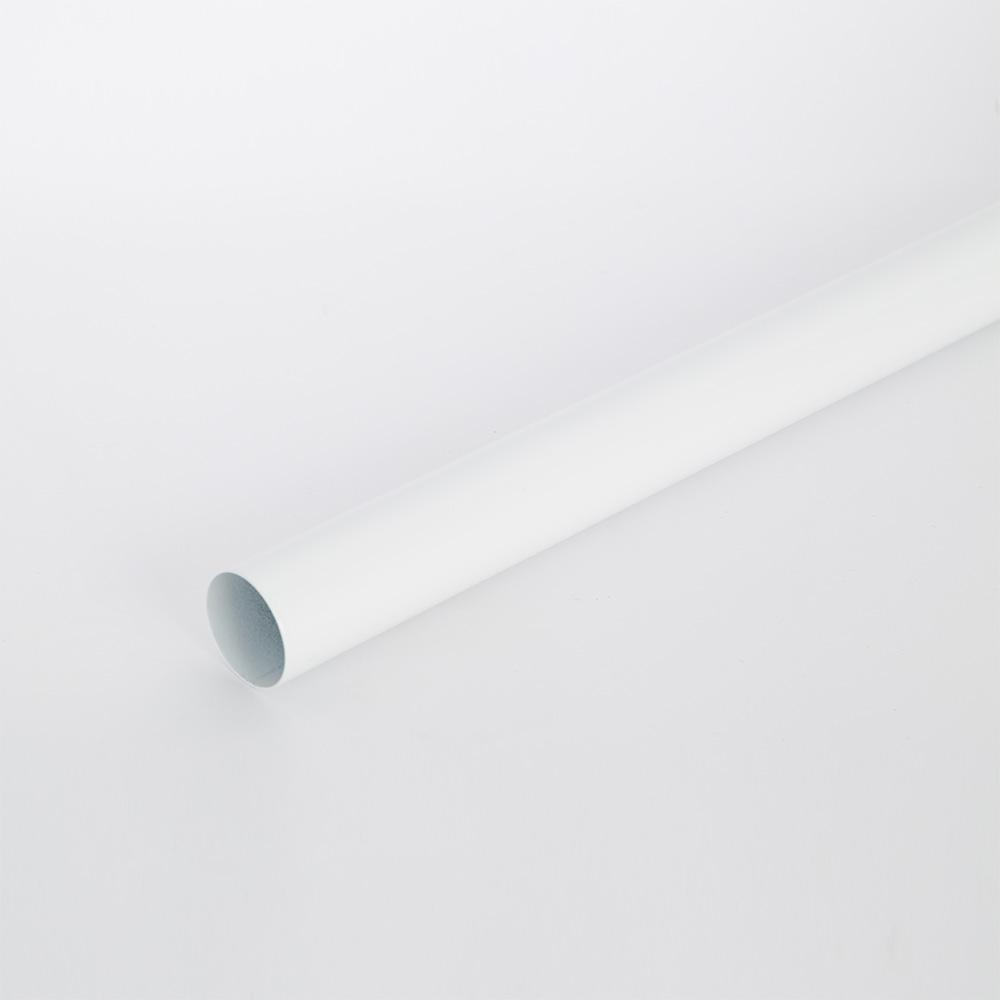 8 ft. White Heavy Duty Closet Rod