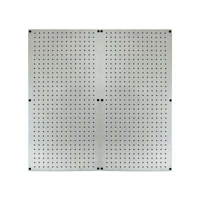 16 in. x 32 in. Galvanized Steel Pegboard (2-Pack)