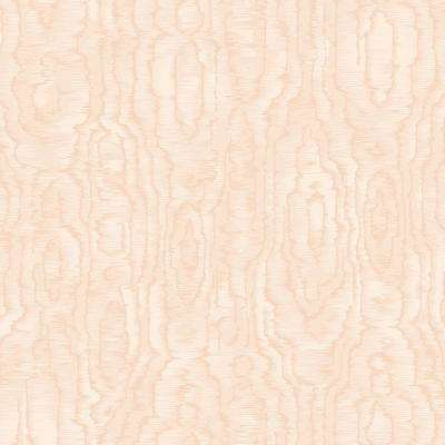 8 in. x 10 in. Salento Light Pink Abstract Wallpaper Sample