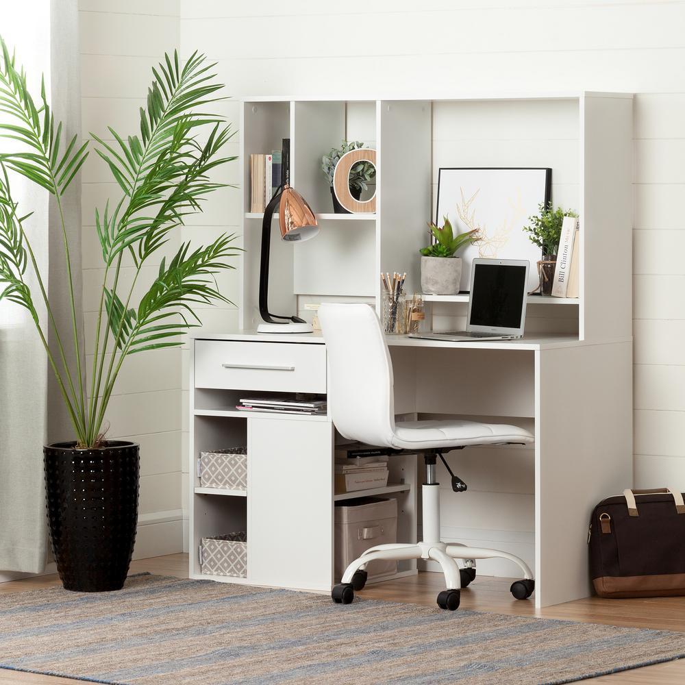Annexe Desk in Pure White