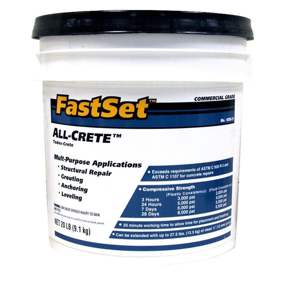 20 lb. Commercial Grade All-Crete