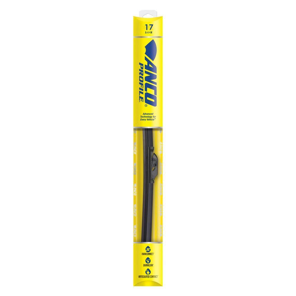 Anco Profile 17 In Wiper Blade A 17 M The Home Depot