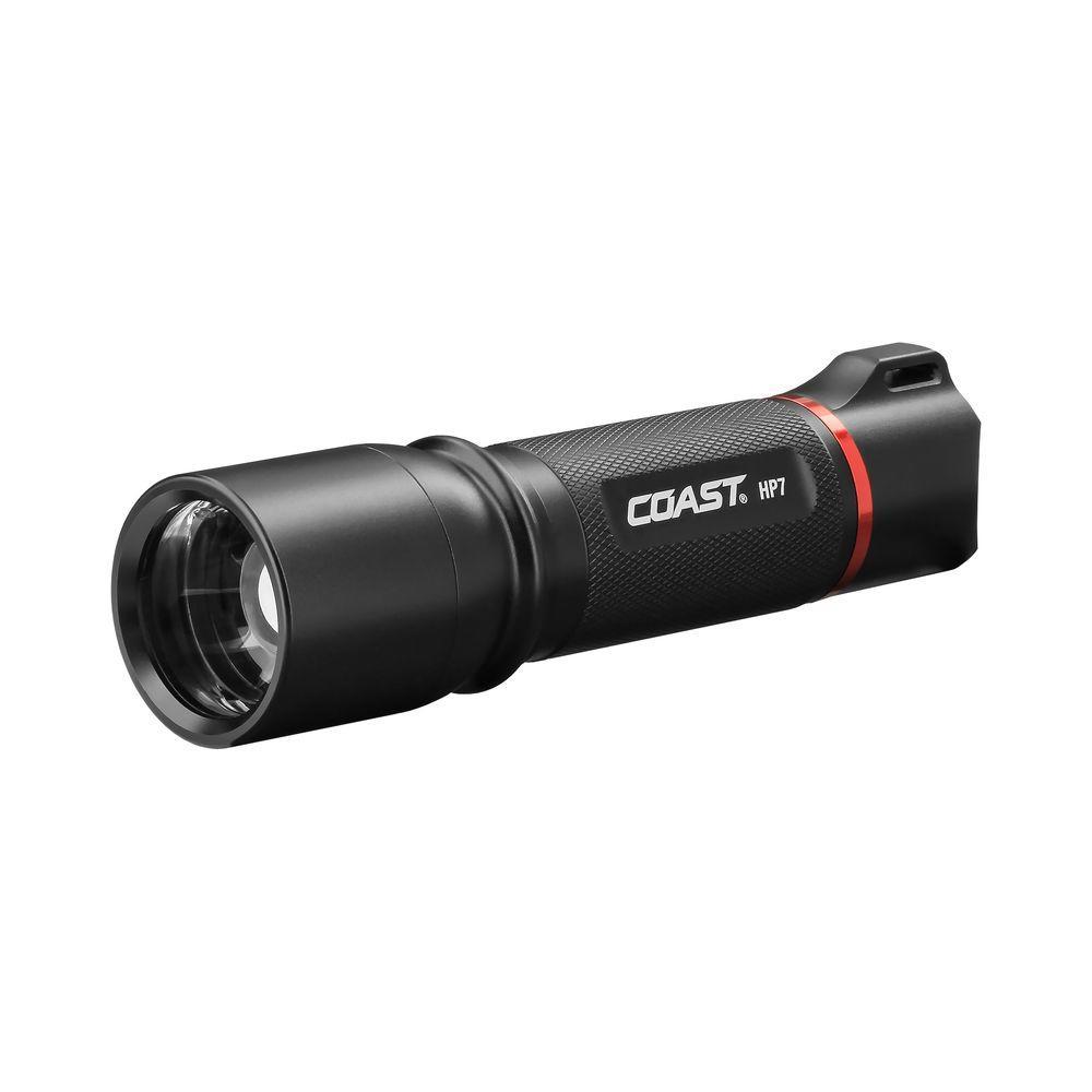 HP7 410 Lumen LED Flashlight with Slide Focus