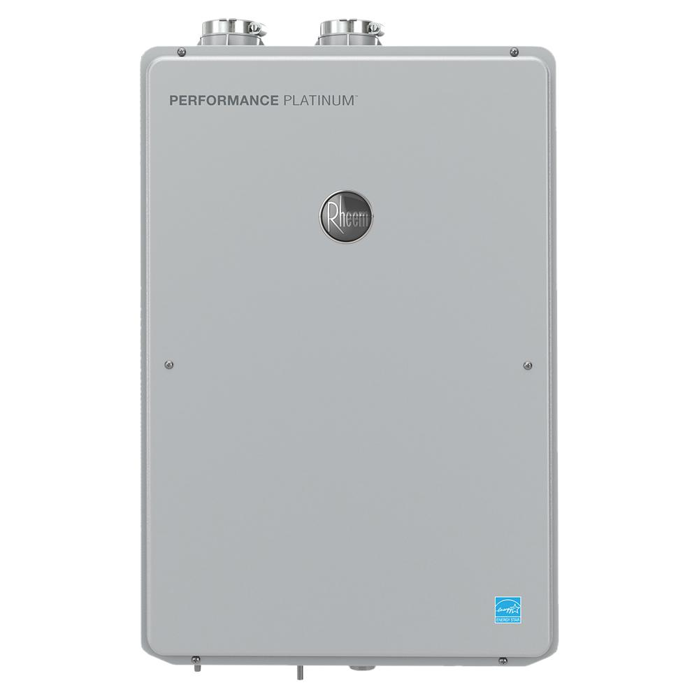 Rheem Performance Platinum 9.0 GPM Natural Gas High Efficiency Indoor Smart Tankless Water Heater