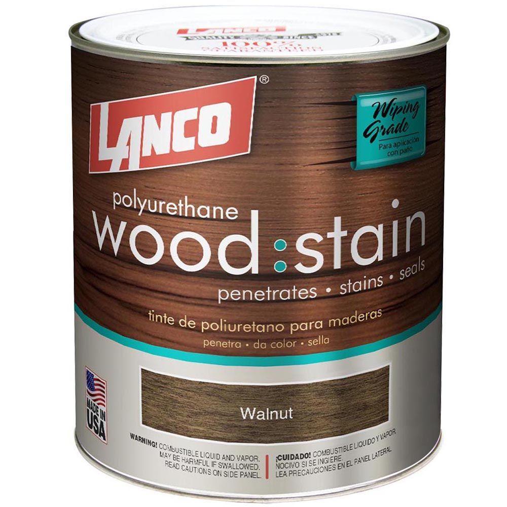 Lanco 1 qt. Walnut Interior Wood Stain
