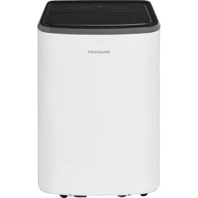 10,000 BTU (6000 BTU, DOE) Portable Air Conditioner with Remote Control for Rooms up to 450 sq. ft. in White