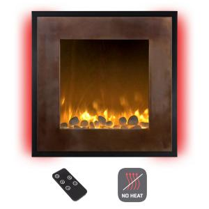 Northwest 24 In Wall Mount No Heat Electric Fireplace In