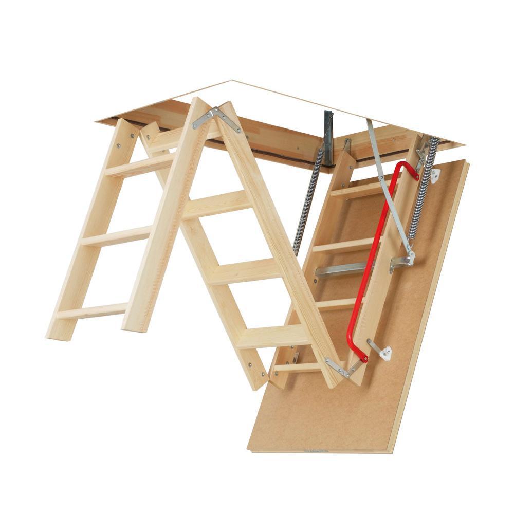 Attic Ladder 22 5 X 36 Image Balcony And Attic