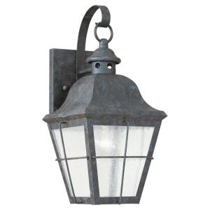 Chatham 1-Light Oxidized Bronze Outdoor Wall Lantern Sconce
