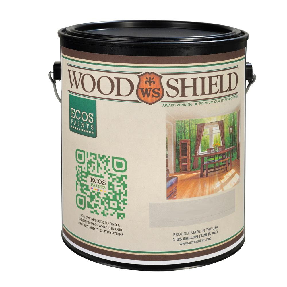 1 gal. ECOS WoodShield Satin Varnish-00817292020087 - The Home Depot