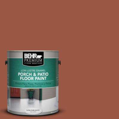 1 gal. #PFC-15 Santa Fe Low-Lustre Porch and Patio Floor Paint