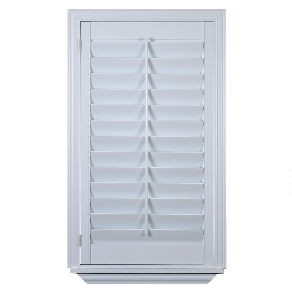 The Home Depot Installed Faux Poly Shutter Hsinstishfps The Home Depot