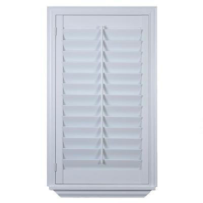 The Home Depot Installed Faux Poly Shutter Hsinstishfps
