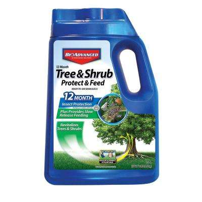 10 lbs. Ready-to-Use Tree/Shrub Protect and Feed Granules