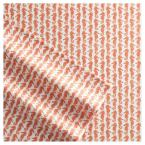 Poppy & Fritz Poppy & Fritz Cotton Percale Printed 3-Piece Coral Graphic 200 Thread Count Twin Sheet Set